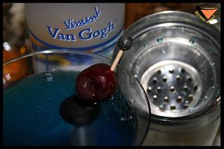 Blue Beach Vodka Van Gogh