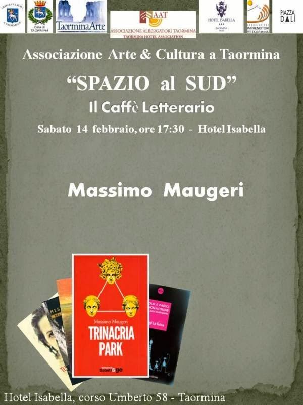"""ARTE E CULTURA A TAORMINA PRESENTA """"TRINACRIA PARK"""" DI MASSIMO MAUGERI"""