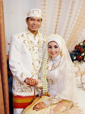 model pengantin muslimah