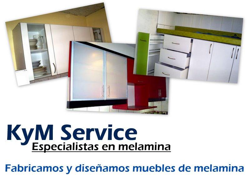 Kym service dise o y fabricacion de muebles en melamine for Reparacion muebles de cocina