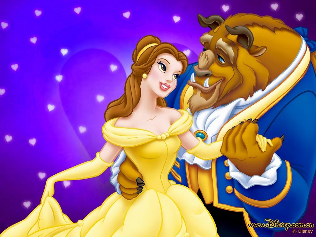 Free Desktop Wallpaper: Disney Beauty and The Beast Wallpaper