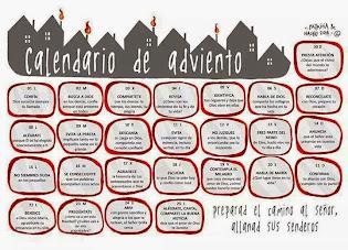 Calendario de Adviento 2014 de Patricia Rojo