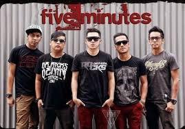 Lirik Dan Kunci Gitar Lagu Five Minutes - Terdampar Di Hatimu