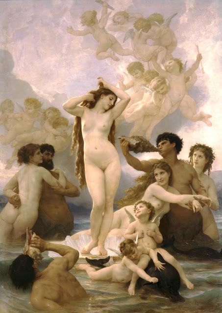Nacimiento de Venus de Bouguereau