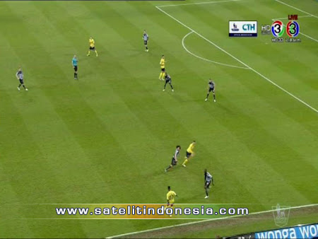 channel yang menyiarkan Arsenal vs Aston Villa