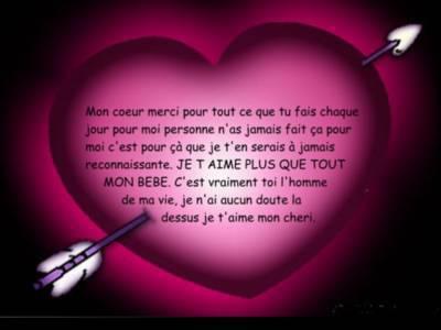 Message d amour pour lui new love message