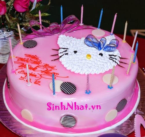 Bánh sinh nhật hình mèo