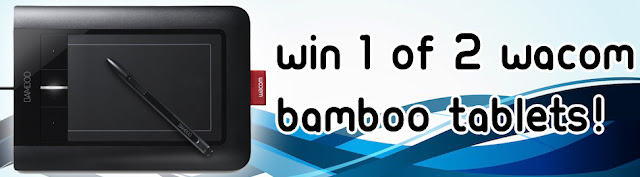Win 1 of 2 Wacom Bamboo Tablets! [Ended]