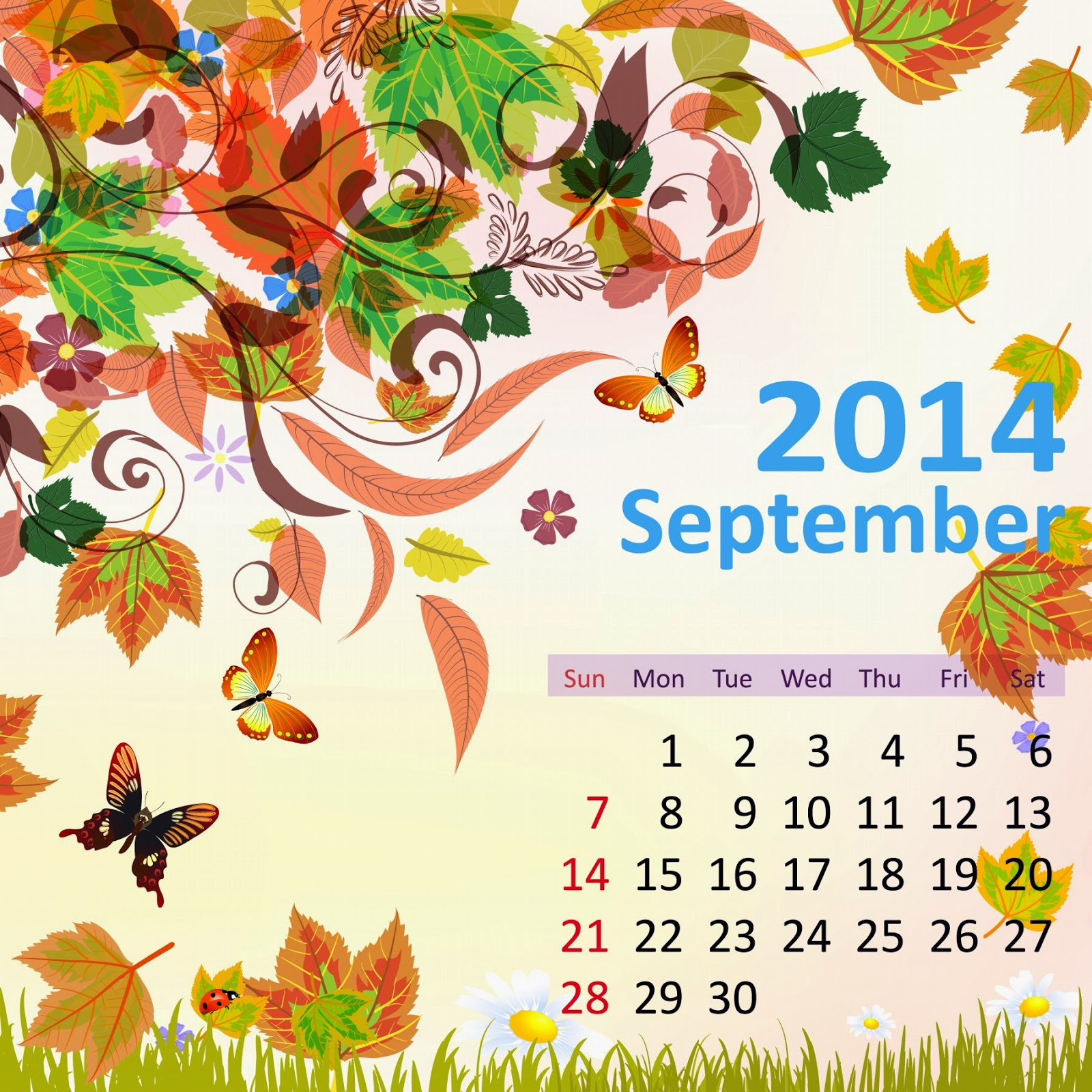 Fascinating Flower Hd 12 Months Calenders 2014   Florecent Happy New Yea Wallpapers