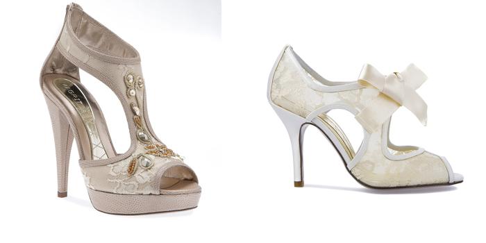Coleccion Zapatos de Novias de Magrit
