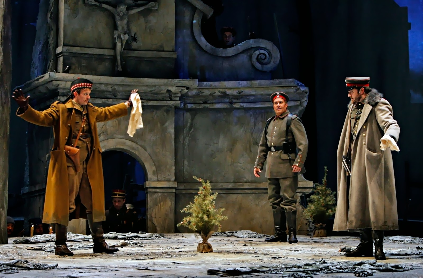 """bird on the wire: World War I Christmas Eve Truce Subject of """"Silent Night"""""""