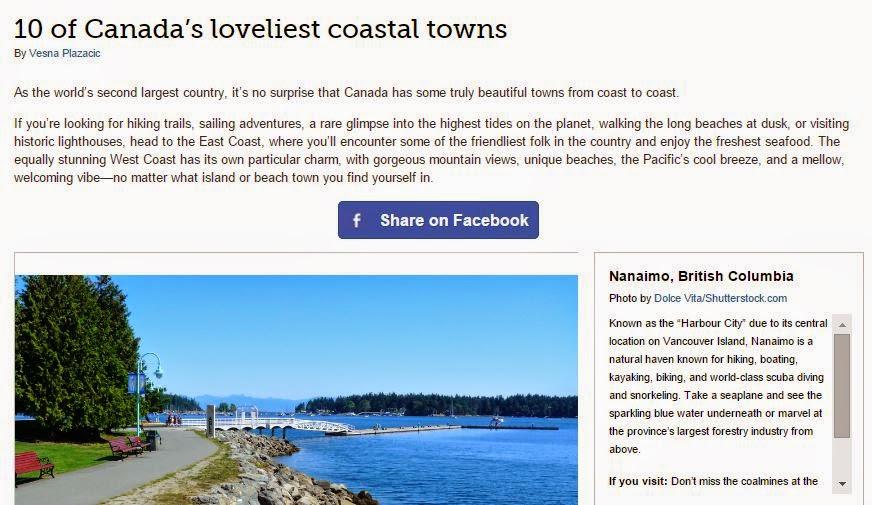 Nanaimo Loveliest Coastal Town