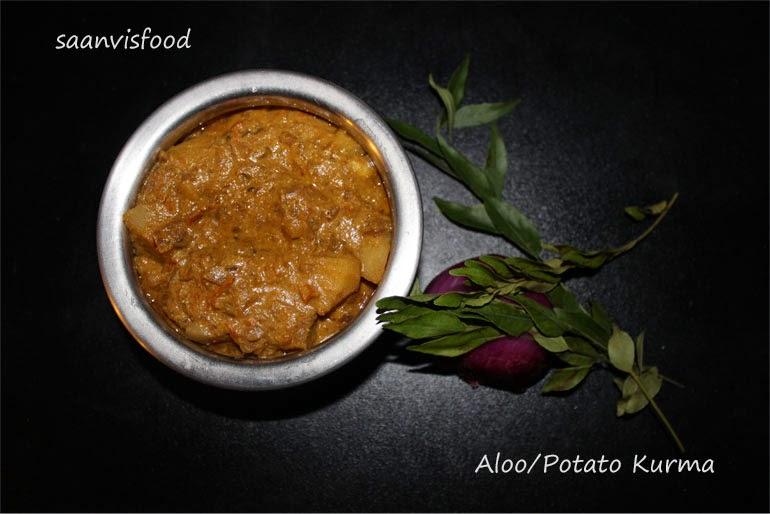 Aloo Kurma/Potato Kurma