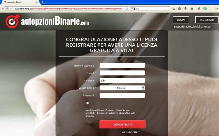 www autopzioni binarie commerce