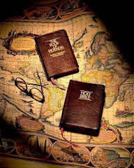 The Book of Mormon and the Bible joined together as one.