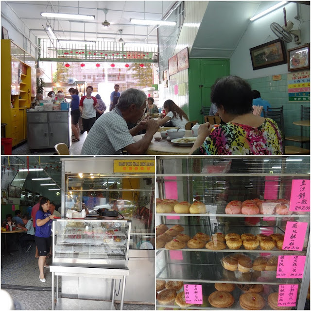 Delicious and cheap food can be found everywhere in Ipoh, Perak, Malaysia