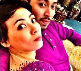 Home » Hiburan » Adira dan Shahrul Nasrun kantoi berpelukan di Hari ...