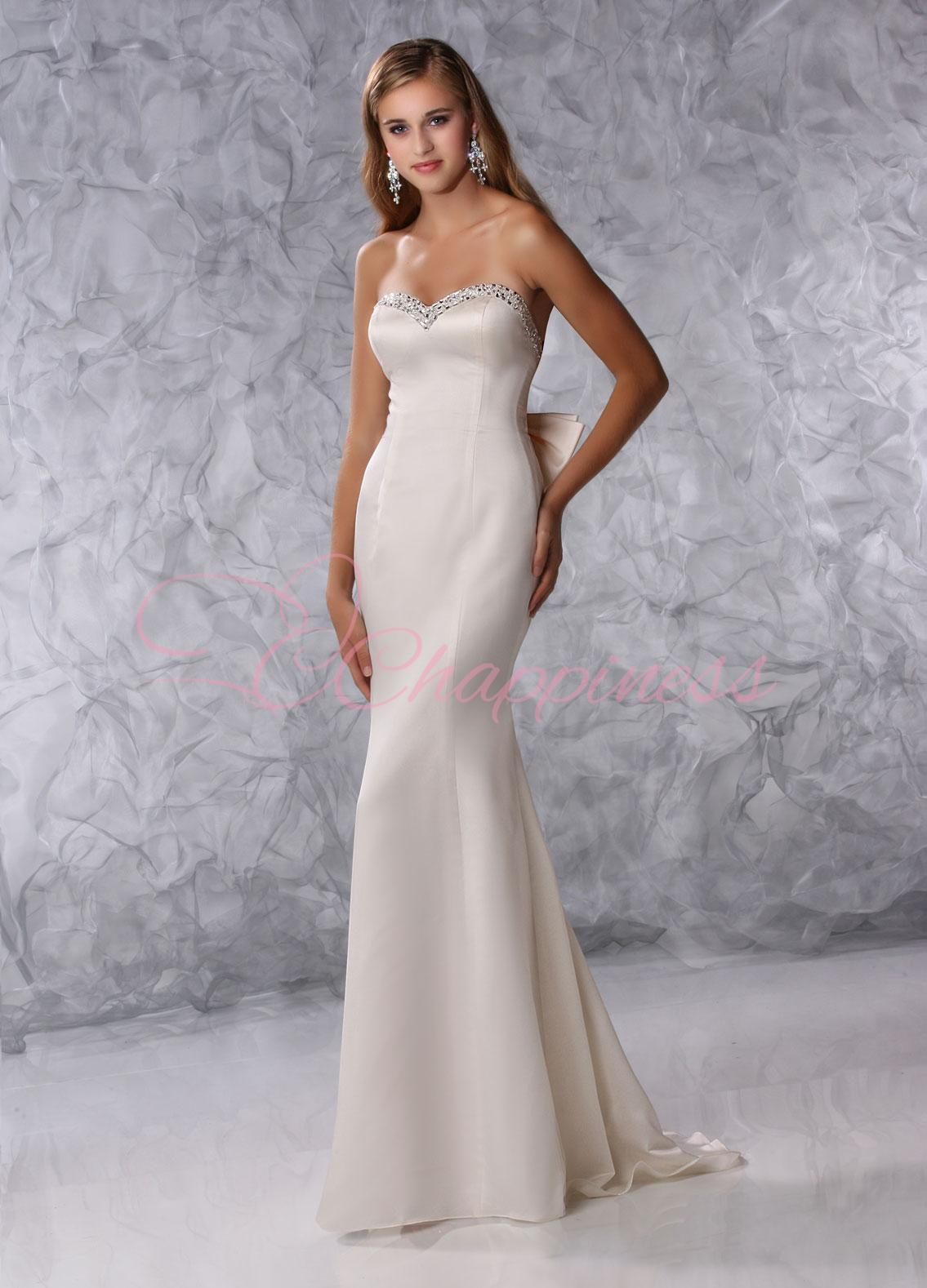 Wedding Dresses: Fabric style Dresses: simple wedding dress