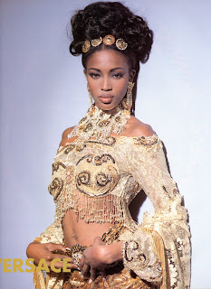 bbnaomicampbell199203vezl7 Beauty Flashback | Naomi Campbell for Versace Atelier