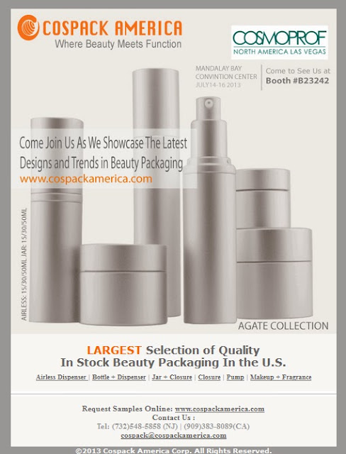 Cosmetic Packaging Supplier | Cospack America Corp