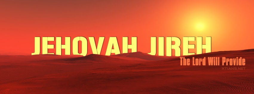 Facebook Cover - Jehovah Jireh - Lord will Provide
