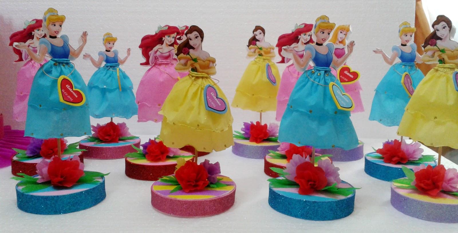 Decoraciones infantiles souvenir princesas for Decoraciones infantiles