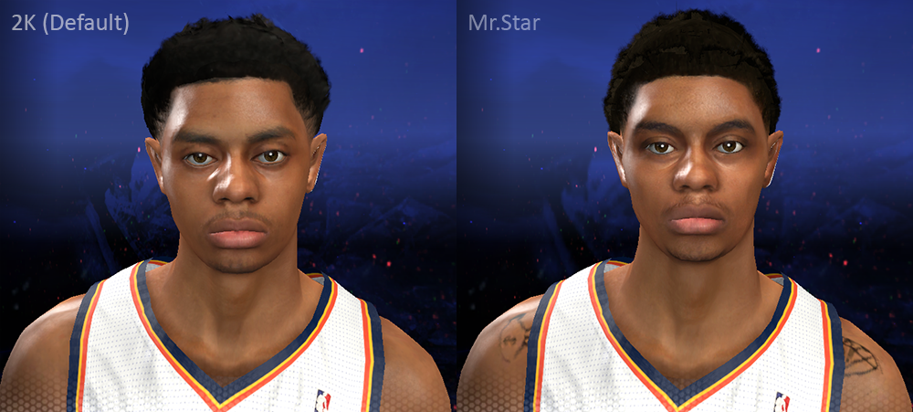 Jeremy Lamb NBA 2K14 Face Patch