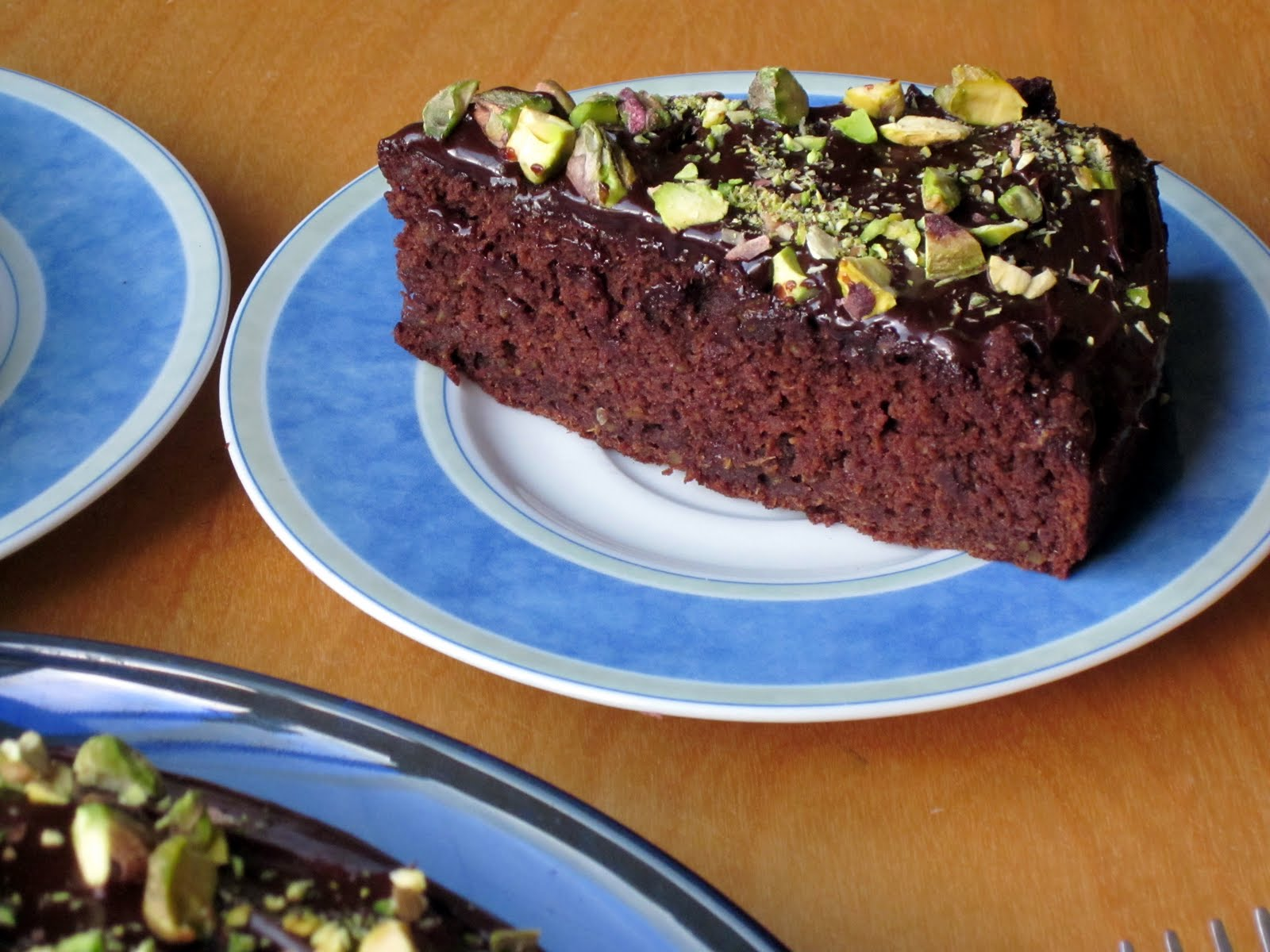 ... Pass the Greens: Chocolate Pistachio Cake: Dairy and Gluten Free
