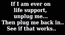 Please Unplug Me. Just Loving My Life