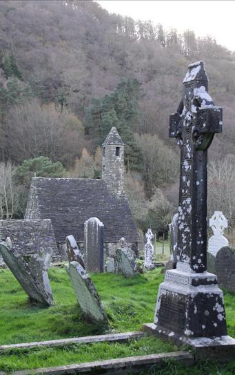 wicklow glendalough cementerio irlandes