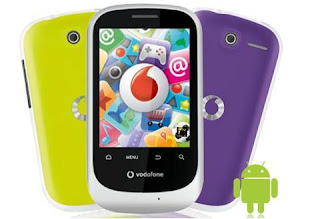android mobile phone in Rs.3000, vodafone smart, features of vodafone smart, vodafone android mobile phone