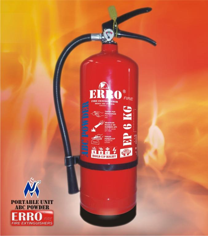 Tabung Pemadam Api 6 Kg