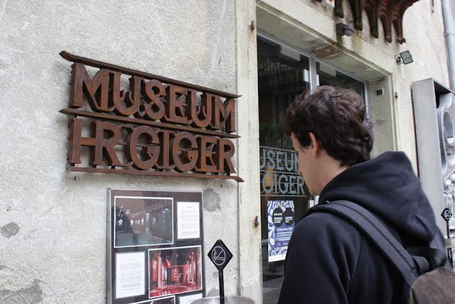 HR Giger Museum, Gruyere, Switzerland