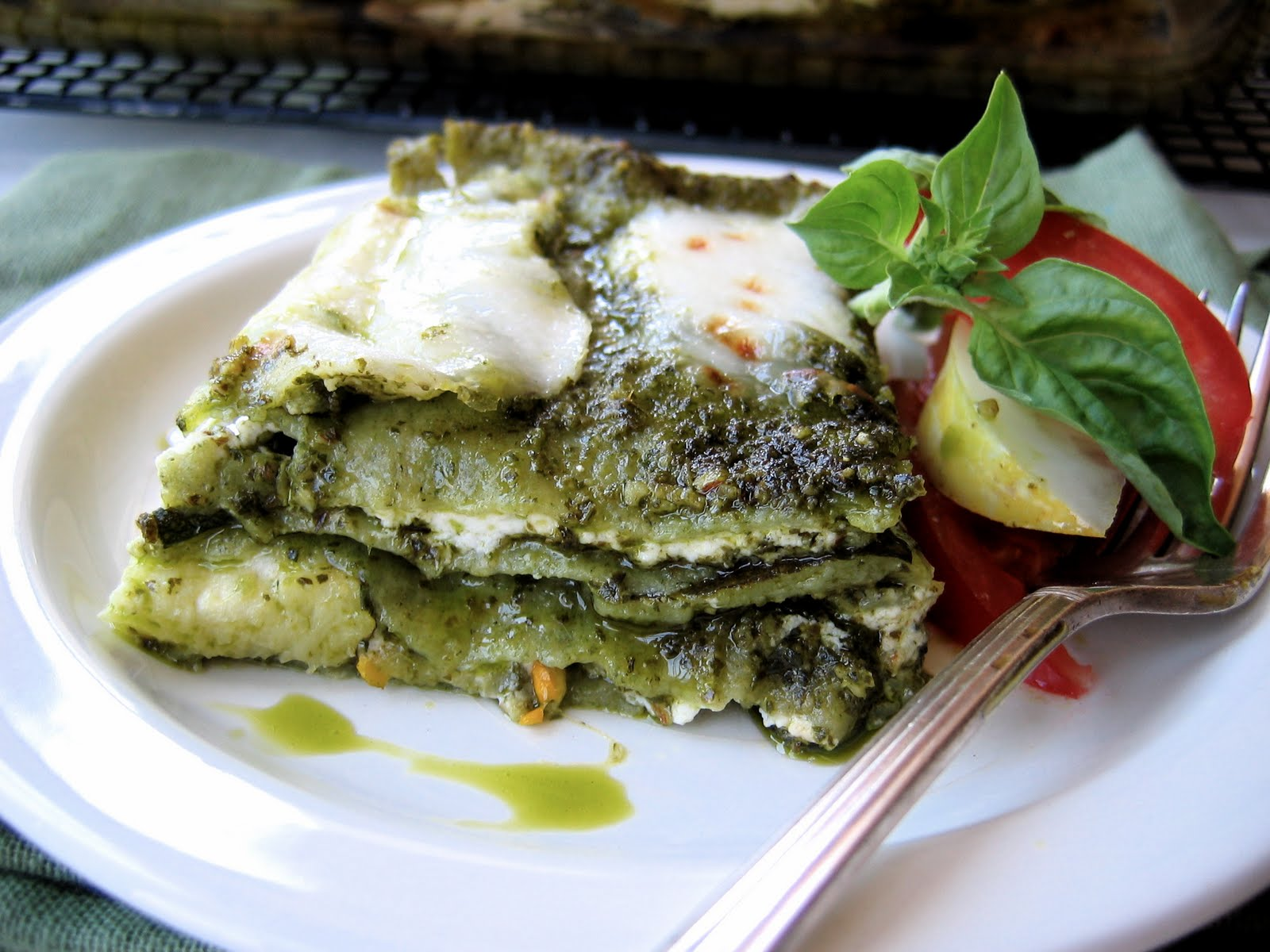 Pesto And Pea Lasagna Recipes — Dishmaps