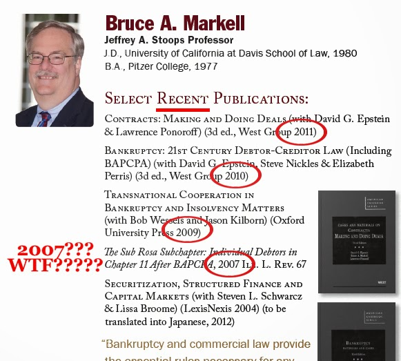 Florida State College of Law - Bruce A. Markell - Select Recent Publications