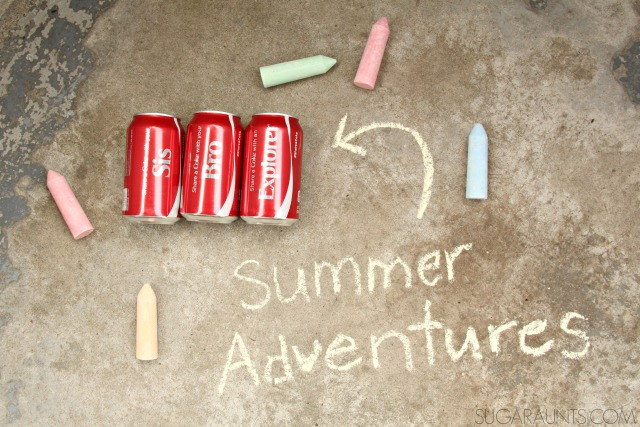 Summer kick-off bucket to share and create summer memories with friends and family this summer.  Start summer off right with this kindness gift that kids can help make! #ShareMemories #ad