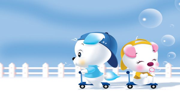 wallpaper cartoon newdesk cute - photo #3