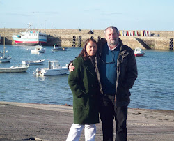 Con el Dr Robert Bell en Roscoff,Francia: