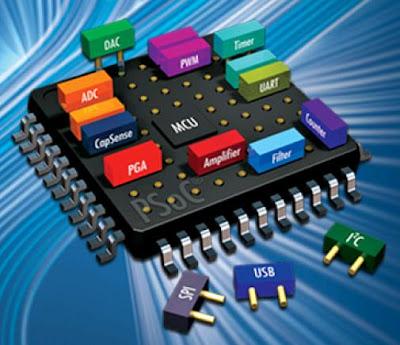 các chương trình được đưa thẳng vào trong chip