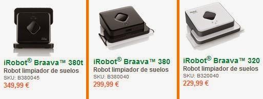 iRobot Braava precios