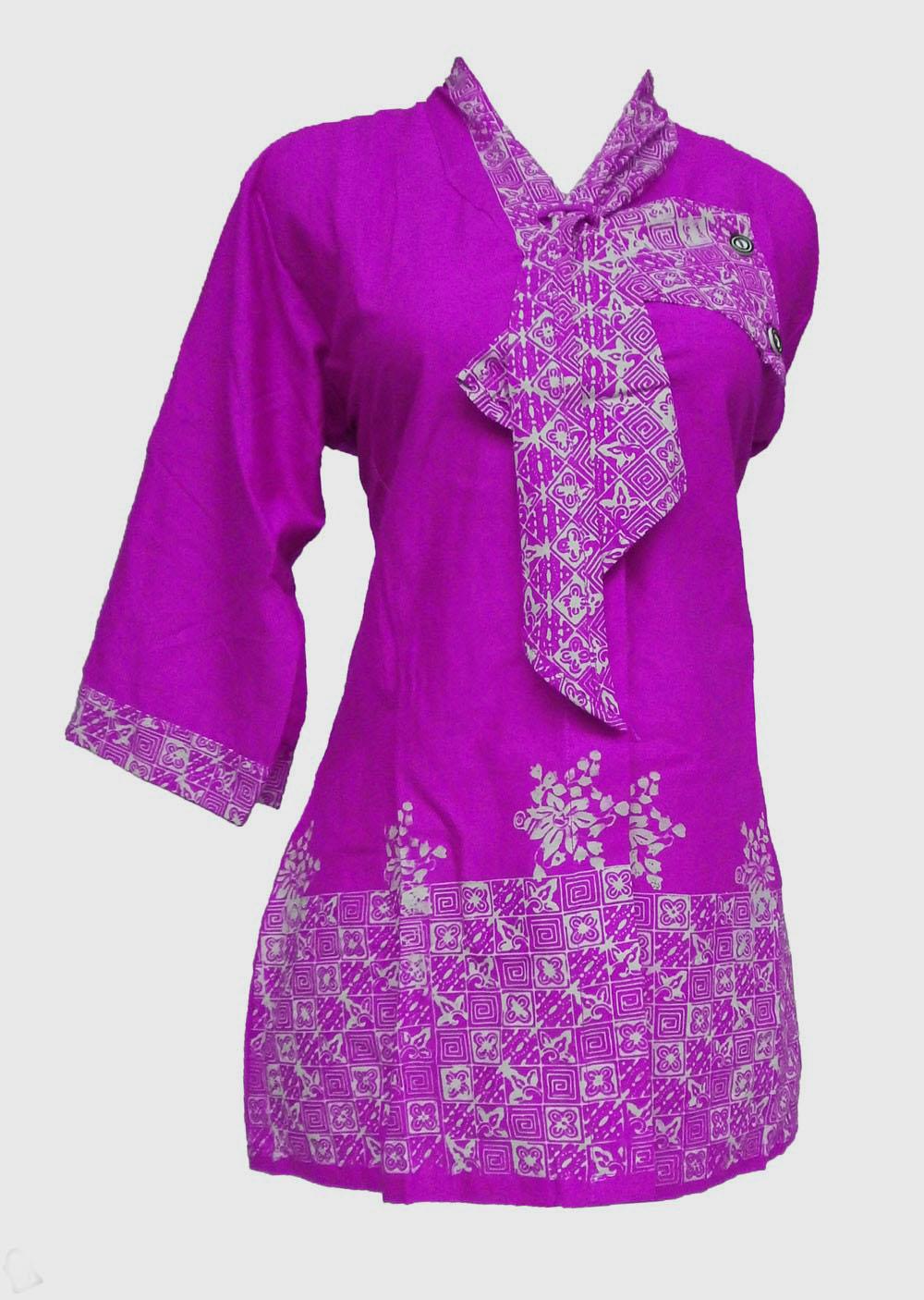 Pusat Jual Baju Batik Modern Pria Wanita Model Terbaru