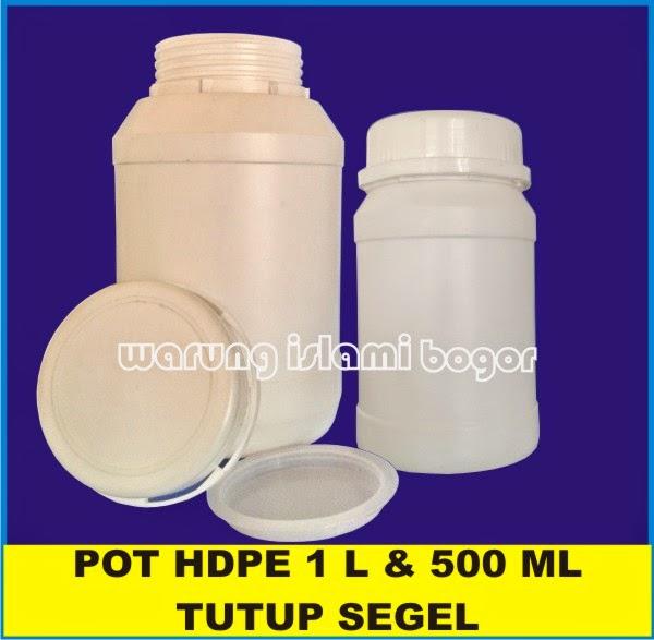 Jual Pot Toples Lem HDPE