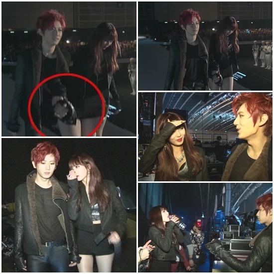 B2st hyun seung and hyuna dating