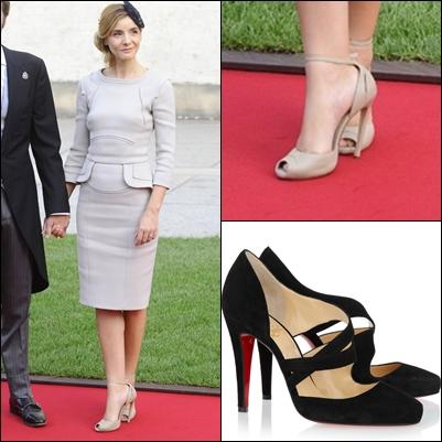 no sin mis zapatos: zapatos de la boda real de luxemburgo
