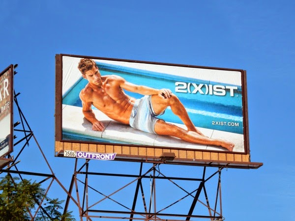 2Xist swimwear 2015 billboard