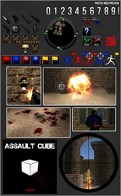 Protox Mod Preview for AssaultCube