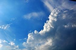 Wochenendwolken...