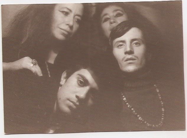 Miguel y Pedro con Esther y Carmina Ortego