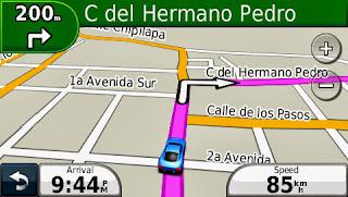 Nuvi, Guatemala, GPS, Garmin, maps