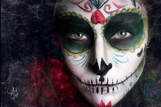Maquillajes para halloween muy terror ficos - Pinturas para halloween ...